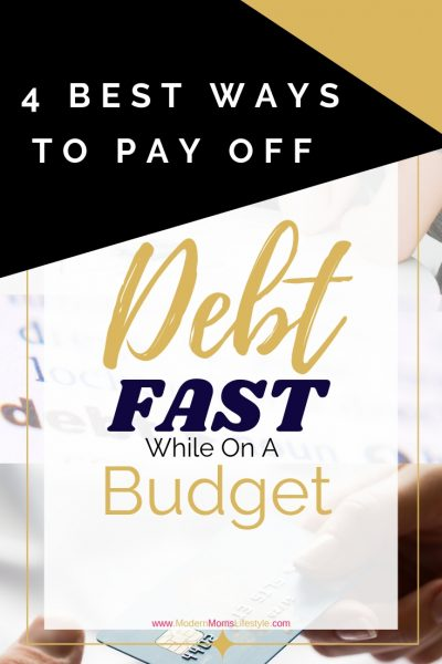 4 Best Ways to Pay Off Debt Fast