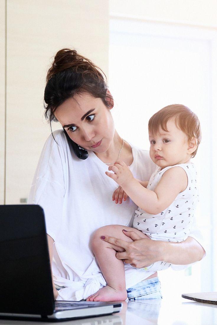 Mom Balance work and home