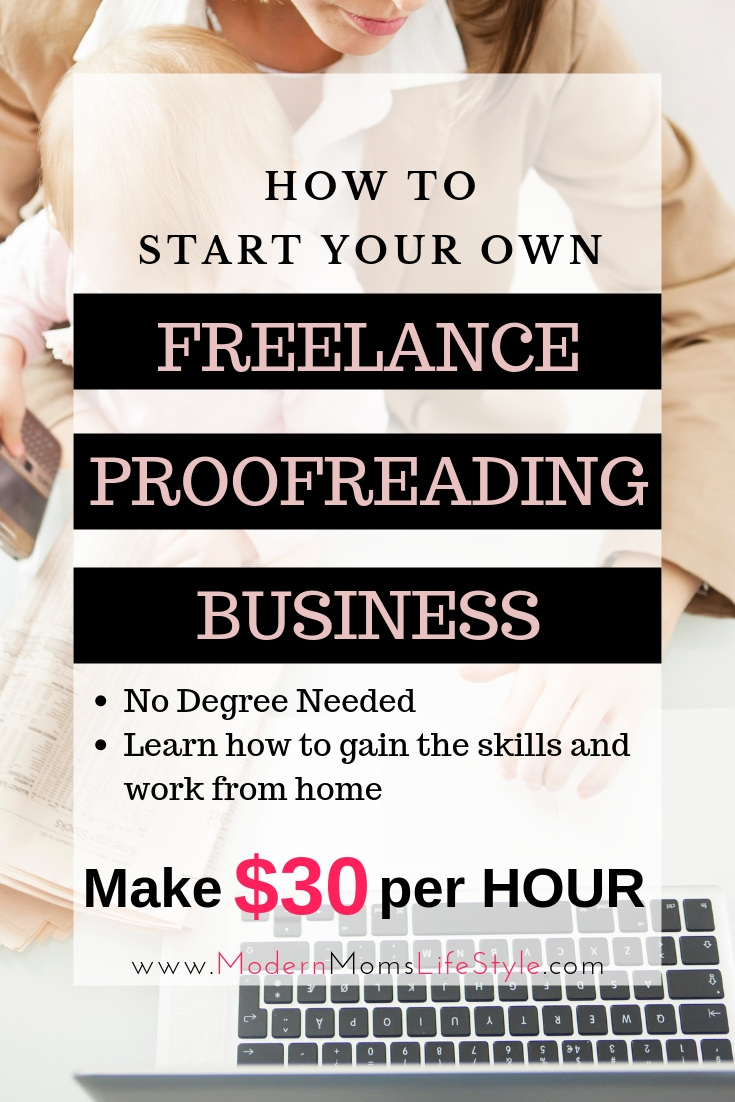 How to Start your Own Proofreading Freelance Business and work from home