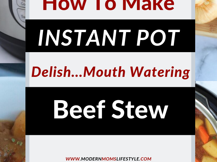 Simple Easy Instant Pot Beef Stew Recipe
