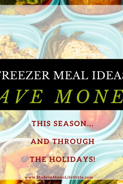 Freezer prep Meal Planning to Save Money